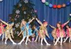 Новогодний карнавал дошкольников в Лазаревском районе